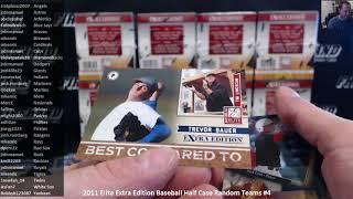 2011 Elite Extra Edition Baseball Half Case Random Teams #4 ~ 7/18/18