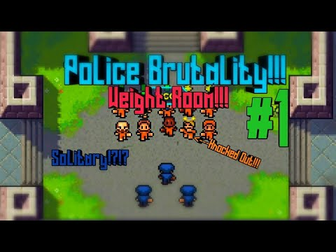The Escapists #1| Police Brutality!!!| Solitary!?!?| Must Watch!!!