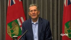 Manitoba Premier Brian Pallister on COVID-19 response – March 27, 2020
