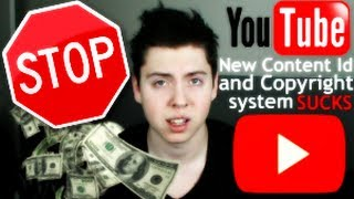 YOUTUBE: NEW CONTENT ID AND COPYRIGHT SYSTEM SUCKS