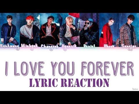 BTOB (비투비) - I LOVE YOU FOREVER (예지앞사) Lyrics Reaction
