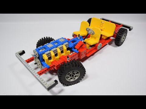 Lego Technic 853 / 956 - Car Chassis