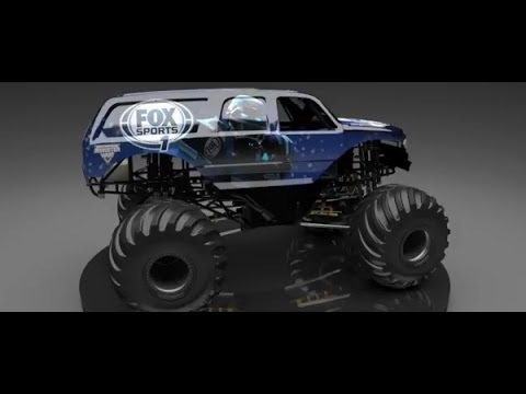 Monster Jam – Feld Motor Sports and FOX Sports Unveil the Cleatus Monster Jam Truck!