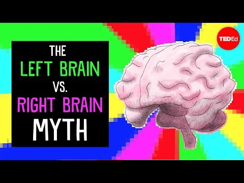 Video image: The left brain vs. right brain myth - Elizabeth Waters