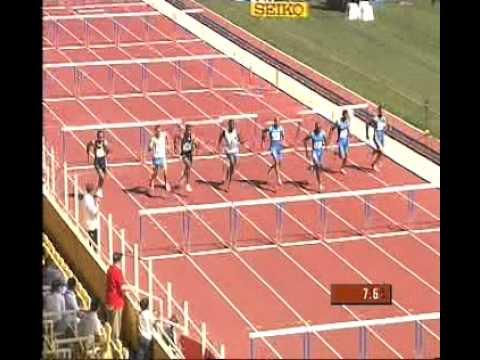 2005 IAAF Grand Prix Final Monaco 110m Hurdles