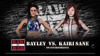 WWE 2K18 - Bayley VS Kairi Sane