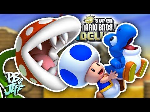 NO EAT BABIES! - New Super Mario Bros. U Deluxe Co-Op (Part 3)