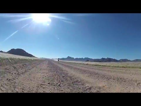 Bike trip through Namibia