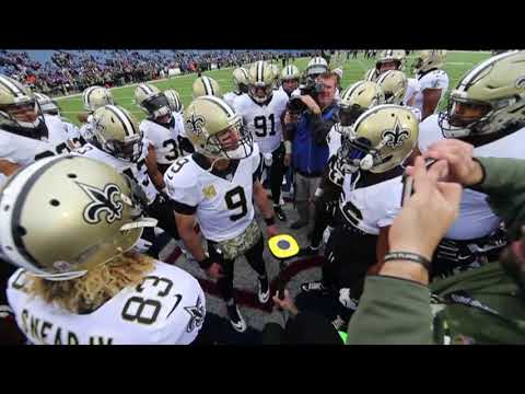 Drew Brees fires up the Saints in Buffalo