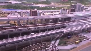 鉄道博物館(てっぱく) 見ごたえがある巨大なHOゲージジオラマ。でも、線路多くない? thumbnail