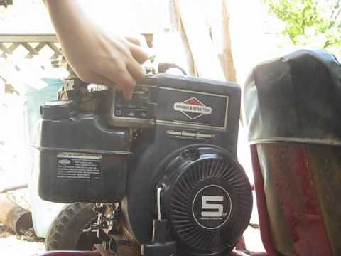 briggs and stratton 5hp go kart youtube. Black Bedroom Furniture Sets. Home Design Ideas