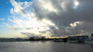 Worcestershire County Cricket Club, New Road Floods, 4 2 14 Time Lapse