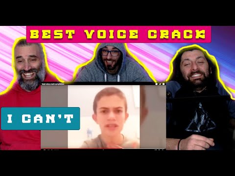 Download best voice crack compilation- first time reaction ( i can't 😂😂😂😂)