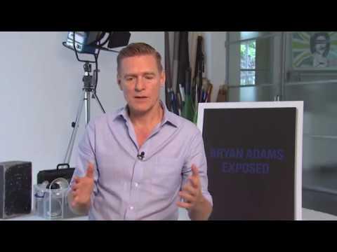 Bryan Adams EXPOSED interview 2012. London UK