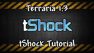 Terraria tShock Tutorial, Spawn Mobs, Bosses, and Items