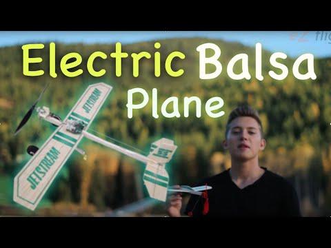 Balsa Plane - Electric RC Conversion