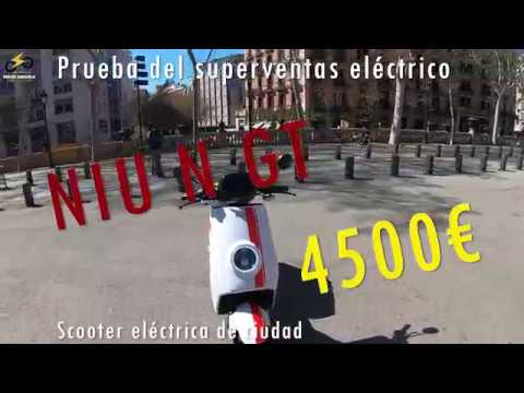 Prueba a fondo de la NIU NGT - Superventas en China - Scooter eléctrica