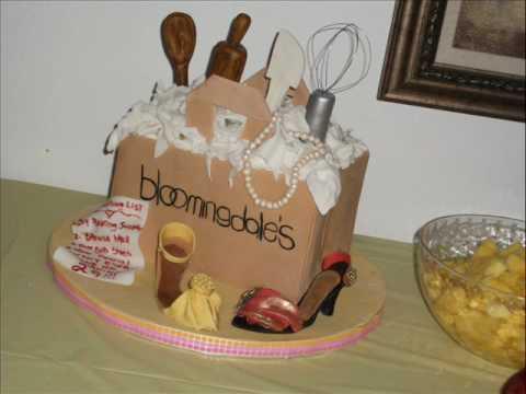 Make A Shopping Bag Cake