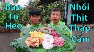 Hữu Bộ | Nướng Bao Tử Bát Giới Nhồi Thịt Thập Cẩm