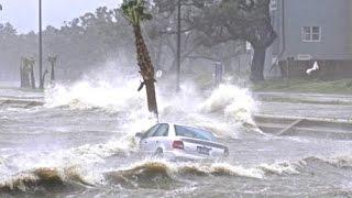 Typhoon Phanfone Landfall & Hits Tokyo, Shizuoka Japan Hurricane - Tropical Storm in Osaka 2014