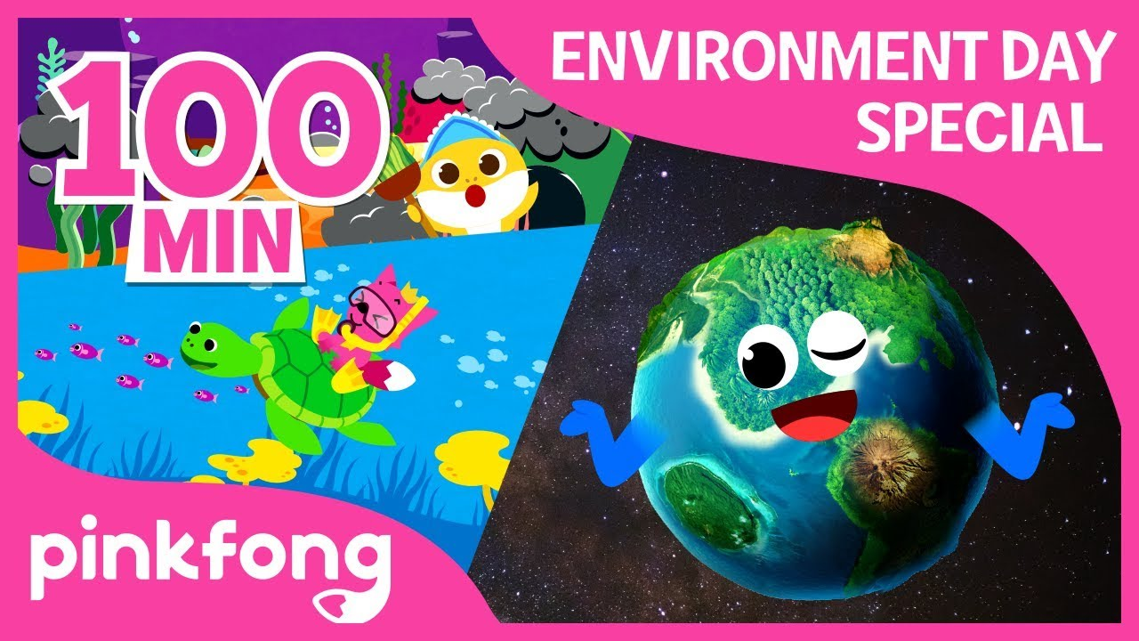 Baby Shark and more | World Environment Day | +Compilation | Pinkfong Songs for Children