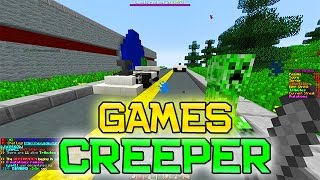 Minecraft: Hunger Games w/Mitch! Game 547 - THE CREEPER GAMES!
