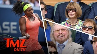 Serena Williams Draws The Celebs To Wimbledon | TMZ TV