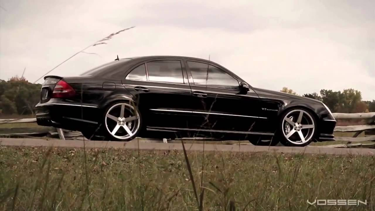 Mercedes Benz E55 Amg On 20 Vossen Vvs Cv3 Concave Wheels Rims Youtube