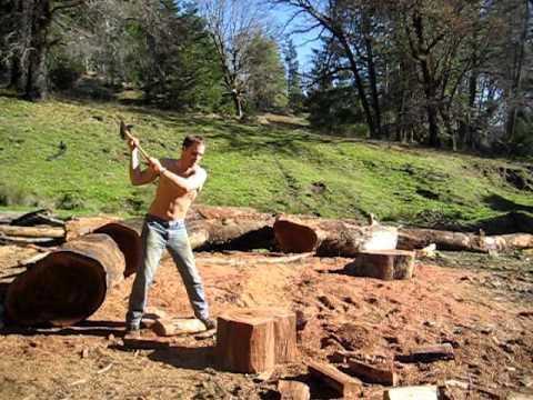 The Amazing Wood Chopping Guy