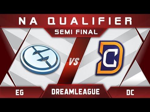 EG vs DC Semi Final DreamLeague Major 2017 NA Highlights Dota 2
