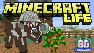 Building A Farm - The Minecraft Life - Bro Gaming