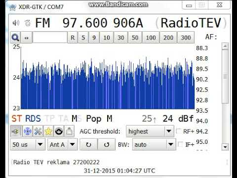 [tropo] 97,6 - Radio TEV, Mazmežotne/ Silavas (Rundāles nov.), Latvia, 99,0 km, 31st December, 2015
