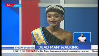 Guest Anchor: Wabaiya Kariuki the 2018 Miss Universe Kenya speaks on her journey to the top