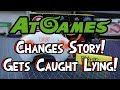 AtGames Changes Story & Gets Caught Lying!