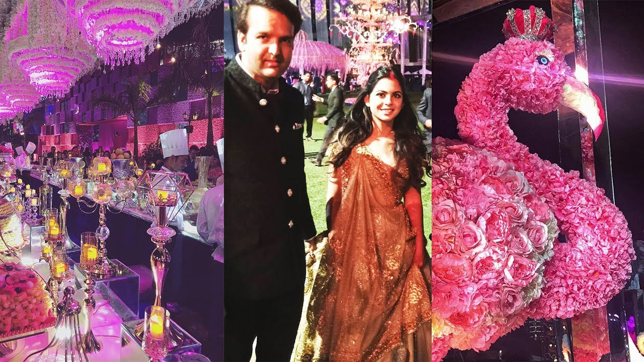 Isha Ambani & Anand Piramal's 500Crore Royal Wedding