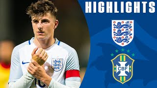 Plenty of Chances for England But Ends in a Draw | England U18 0-0 Brazil U18 | Official Highlights