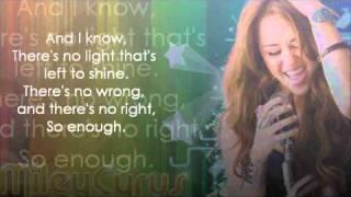 Miley Cyrus Giving you up lyrics.mp3