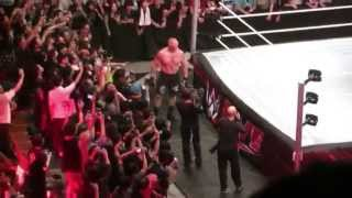 Brock Lesnar entrance The Beast in the East Live from Tokyo 07/04/15