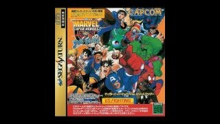 Marvel Super Heroes vs. Street Fighter Review for the Sega Saturn
