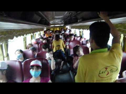 Trò chơi trên xe - Du lịch biển Đồ Sơn cùng Let