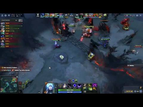 Optic Gaming VS VGJ.Storm  Game 2 China Dota 2 Super Major NA Qual [LIVE]
