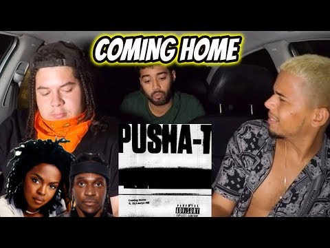 Pusha T - Coming Home (Audio) Ft. Ms. Lauryn Hill   REACTION REVIEW