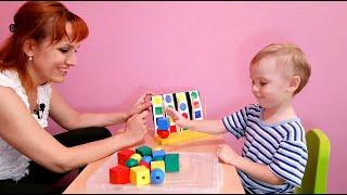 Как научить ребенка складывать по образцу. Конструктивный праксис