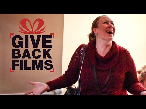 Christmas Surprise for Deserving Family | Give Back Films