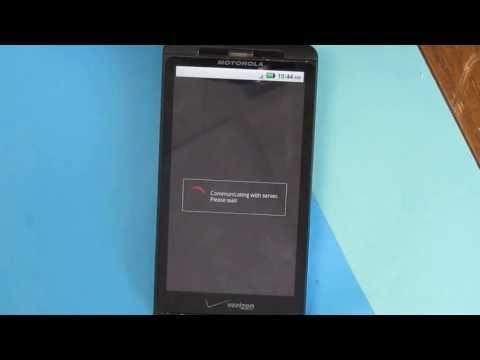 Bypass Actiavtion Motorola Droid X MB810 Verizon