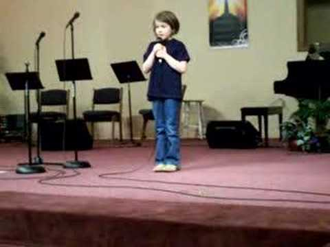 "Abby Howard singing ""Offering"""