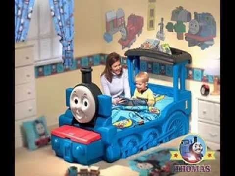 Thomas the train bedroom ideas - YouTube