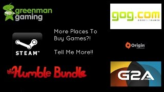 Top 5 Best Places To Buy PC Games