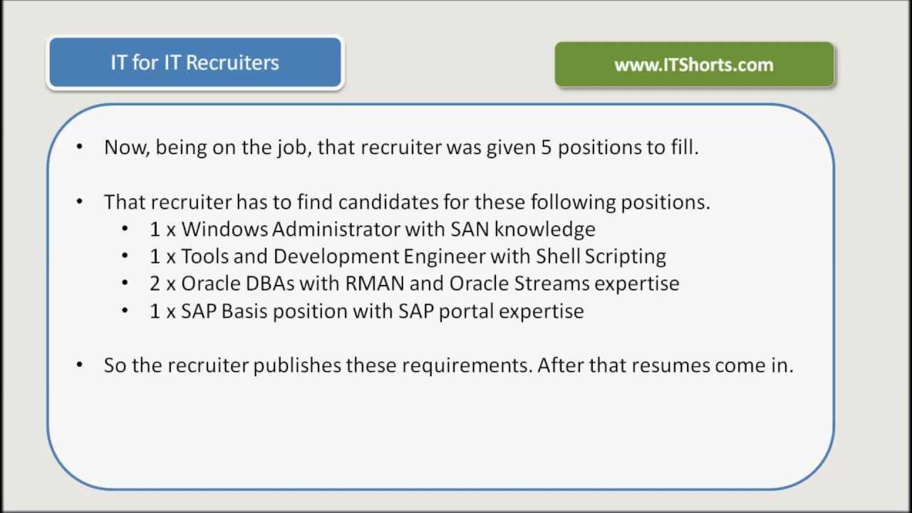it recruiter
