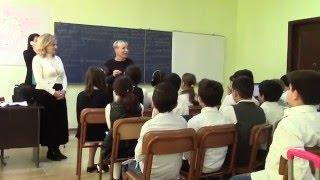 Интегрированный урок школа   № 3 г  Батуми  Тематика басен Эзопа, Орбелиани,Крылова ( 1-я  часть)